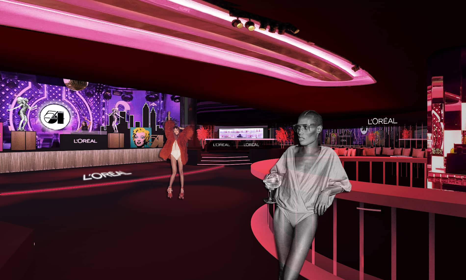 L´ORÉAL «STUDIO 54 PARTY»