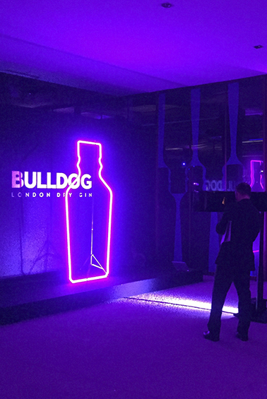 BULLDOG GIN EVENT