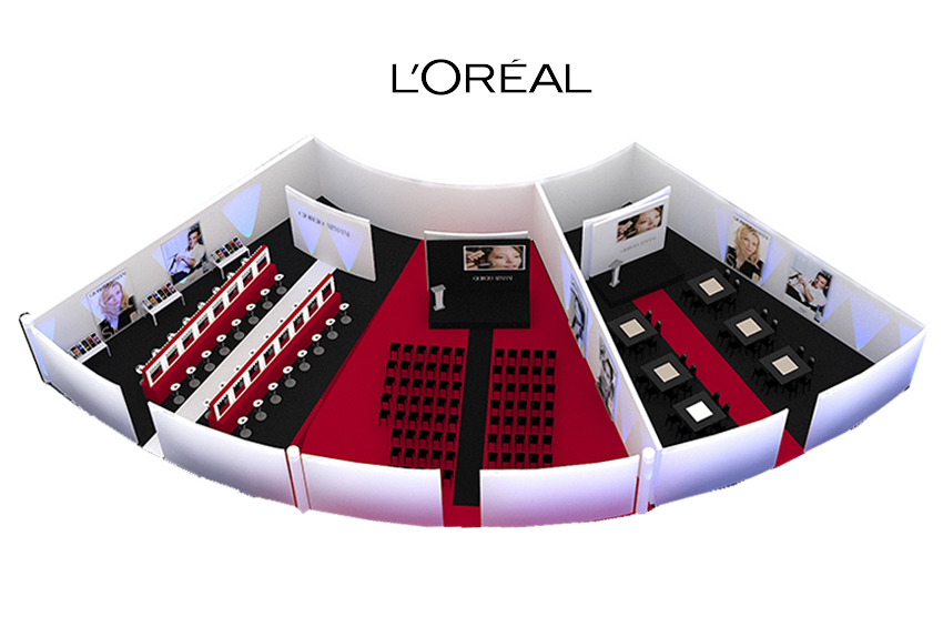 L´ORÉAL «MAKE UP EVENT»