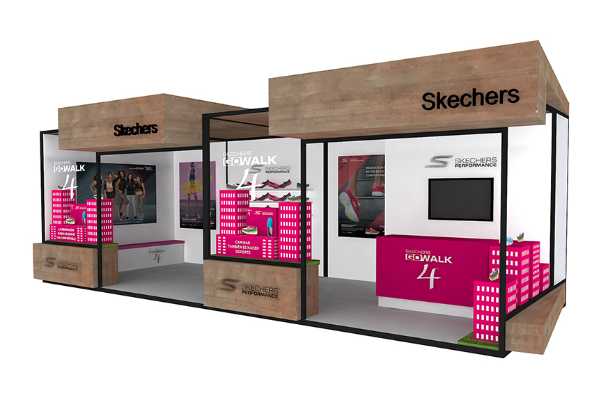 SKECHERS STAND «MUTUA MADRID OPEN 2017»