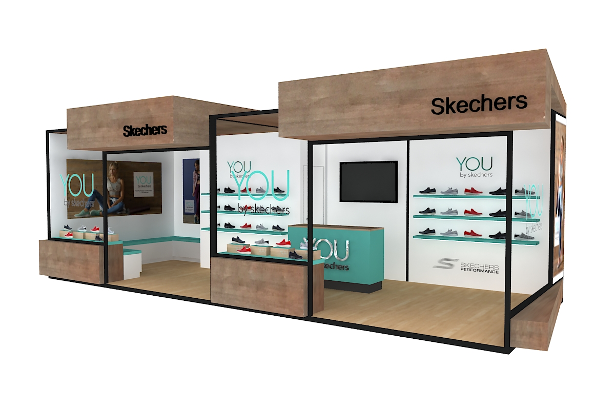 SKECHERS STAND «MUTUA MADRID OPEN 2018»